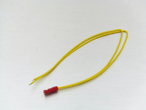JST Male connector 26AWG Yellow Long
